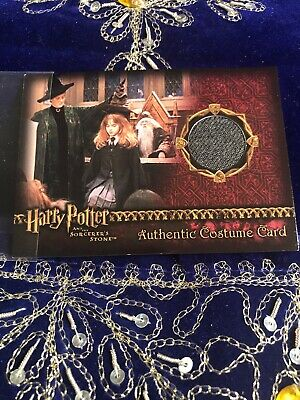 Harry Potter & the Sorcerers Stone Authentic Costume  Card Hogwarts Stone