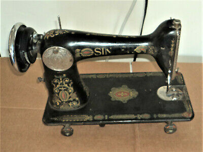 Vintage Singer Sewing Machine from Table