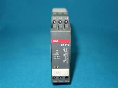 ABB 1SVR430824R9300 CM-PFS PHASE SEQUENCE MONITORING RELAY