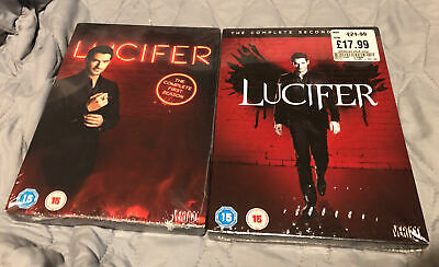 Lucifer Season 1 & 2 Dvd Sets Brand New & Sealed Official Region 2 Xmas Present
