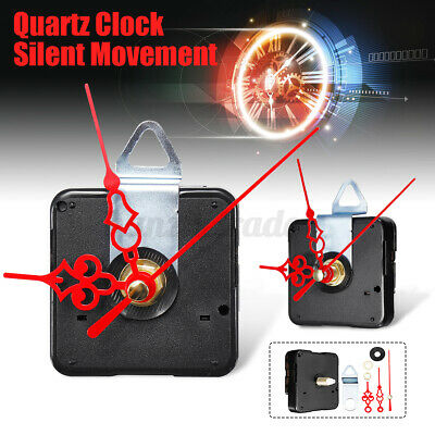 DIY Quartz Clock Movement Mechanism Hand Module Kit Hour Minute Second W New