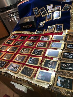 Harry Potter Gold Promo Cards Rare Artbox Collection