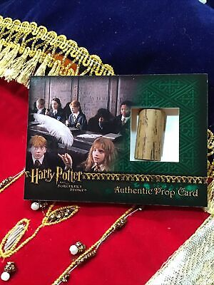 """Harry Potter & the Sorcerers Stone Authentic Prop Card """"WAND"""""""