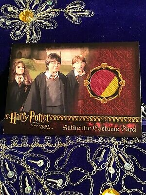 Harry Potter & the Sorcerers Stone Authentic Prop Card Gryffindor Students