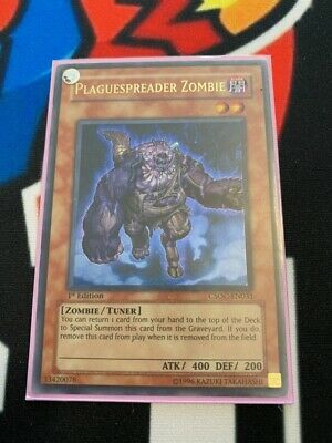 yugioh PLAGUESPREADER ZOMBIE CSOC-EN031 Unlimited Edition Ultra Rare Near Mint