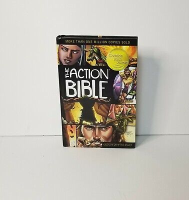 The Action Bible: Gods Redemptive Story Sergio Cariello David Cook 1st Edition