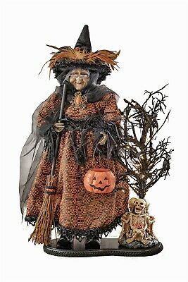Victorian Trading Co Halloween Evanora the Witch Figurine Doll