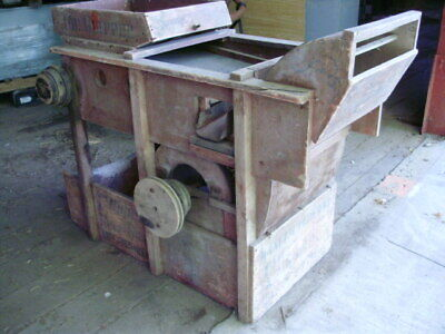 A.T. Ferrell Clipper Fanning Mill Seed Grain Cleaner With Hand Crank Size 1B