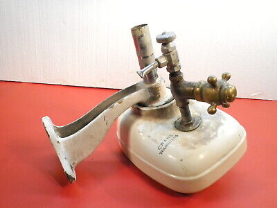 Vintage Crane Thurstend Porcelain Water Drinking Fountain Bubbler Tiny Home