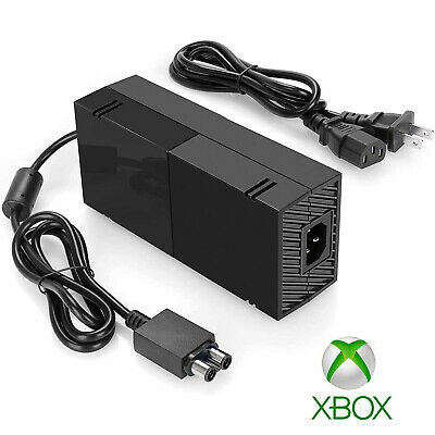 For Microsoft Xbox 360 Power Supply Brick AC Adapter Charger with Power Cord NEW