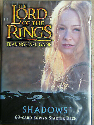 Starter Shadow Eowyn  Vo Lord Of The Rings Tcg