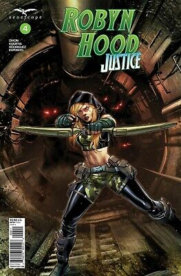 Zenescope/'s Grimm Fairy Tales Presents Robyn Hood Justice #1 Cover H Variant
