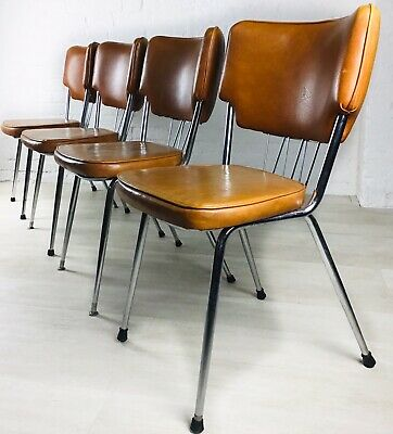 Retro Kitchen Table And Chairs Extending Vintage Chrome Formica Supermatic 225 00 Picclick Uk