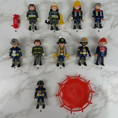 Details about  /  Playmobil Spares x 4 cear Visors for Fire Fighters Helmets Fireman Figures