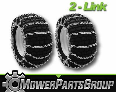 Snow Blower Snow Tire Chains for ATV Thrower 4 Link 20 x 10 x 8//10
