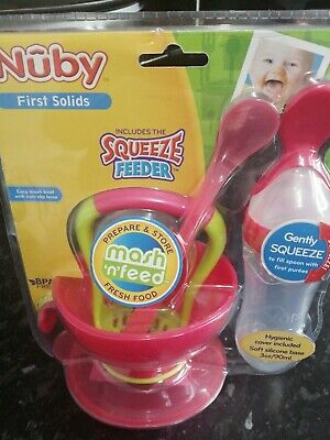 Purple /& Pink Brand New ***PRICE DROP*** Nuby Steam N/' Mash /& Freezer Pots