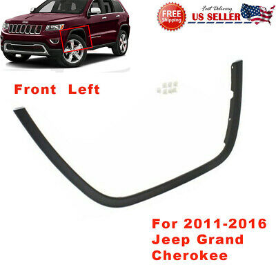 for 2011 2016 Jeep Grand Cherokee FT LH Left Drive Wheel Opening Molding Flare