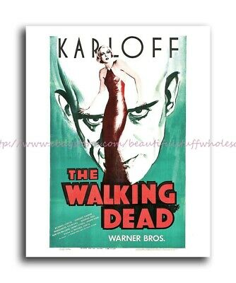 R533 CITY OF THE WALKING DEAD Movie Horror Zombies-Print Art Silk Poster