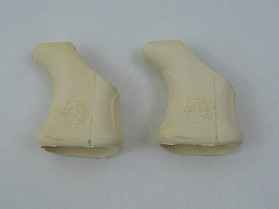 One Pair of Campagnolo Shield Brake Lever Hoods black Nuovo Super record