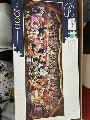 New Clementoni Disney Mickey Mouse 90 Years Of Magic 1000 Piece Jigsaw Puzzle