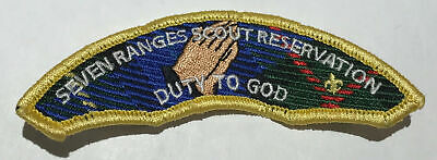 BUCKEYE COUNCIL ORDER OF THE ARROW SEVEN RANGES SCOUT RESERVATION FLAP PATCH