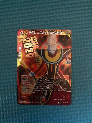 Dragonball Super Promo the Instructor P-103 PR Whis Red