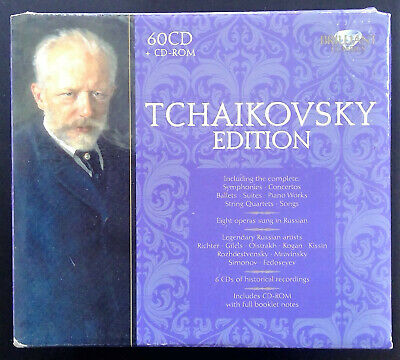 Tchaikovsky Edition / 60 CDs / very good condition