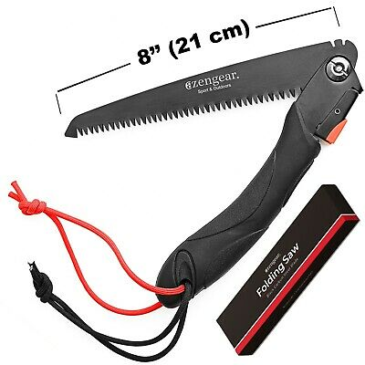 """TOLSEN TOOLS 9/"""" FOLDING PRUNING HAND SAW CAMPING SURVIVAL BLADE AX PORTABLE FIRE"""