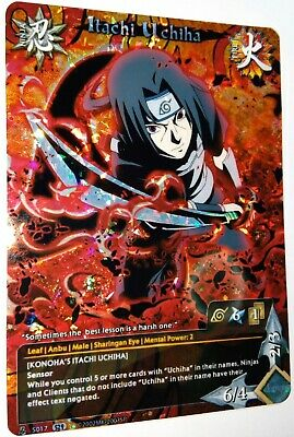 Carte Naruto  Custom Collectible Card Game CCG  Foil Fancard Set 29 Limited #13