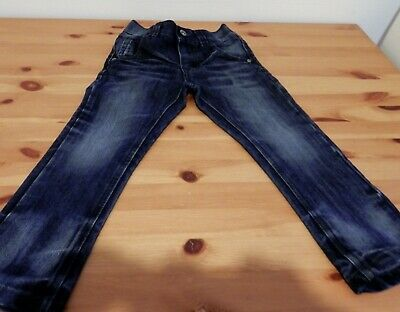 NEXT Boys Dark Denim Jeans with faded detail - Aged 4 - VGC!