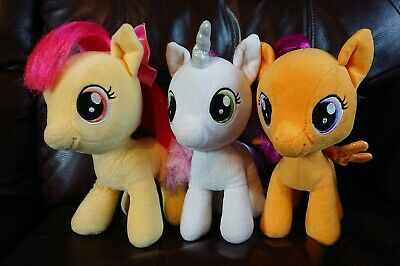 Build A Bear My Little Pony Scootaloo Apple Bloom And Sweetie Belle 13 17 Picclick Uk Check out our scootaloo plush selection for the very best in unique or custom, handmade pieces from our stuffed animals & plushies shops. picclick uk