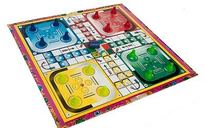 Ludo Mat Traditional Classic Modern Full Size Family Kids toys Board Games