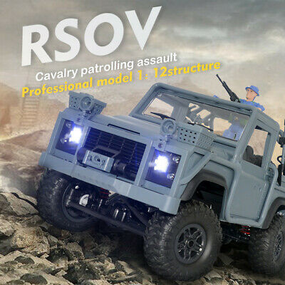 MN 99s 2.4G 1//12 Full-Scale 4WD RTR Crawler RC Car Off-Road For Land Rover I5E3