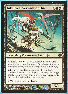 Limited Servant of Oni Resin Statue Magic The Gathering Ink-Eyes