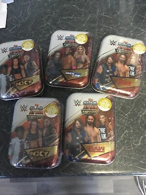 Topps Slam Attax Universe NXT Wrestling 5 Tins