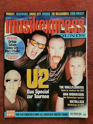 U2 | Bono, Edge, Adam, Larry |  Musikexpress Sounds |  8/1997 | ohne CD