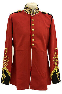 """SteampunkJacket With Brass Buttons  In 40"""",42""""44""""46""""with Gold Rope On Sleeves"""