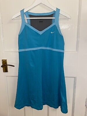 Nike large Girls Tennis Dress Blue