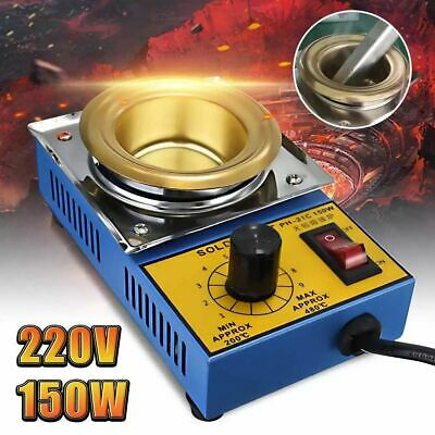 Soldering Desoldering Stainless Steel Plate Pot Bath 200 480°C Electric Irons