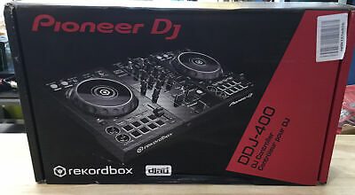 Pioneer DDJ-400 Portable 2-Channel rekordbox DJ Controller w/8 Pads - BRAND NEW