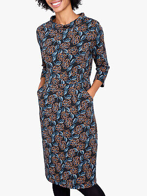 Brand New Women/'s Seasalt Blue Tansies Conker The Cleats Dress Sizes 8-14
