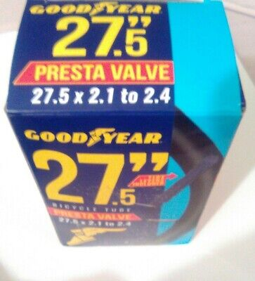 27.5 × 2.1-2.3 Forte Presta Valve Bicycle Inner Tube