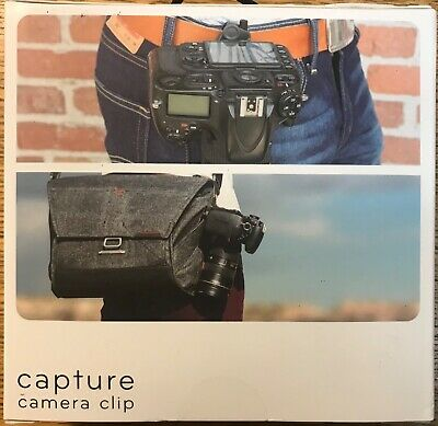 Peak Design Capture Camera Clip v3 with Standard Plate & clamping bolts