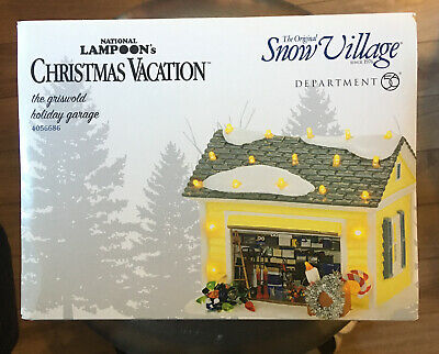 NEW Lampoon/'s Department 56 Christmas Vacation Village Pool Fantasy Set 6005457