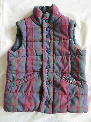 Original Puffa/Riding Jacket Vintage - Childs Small - See Description for Size