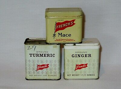 novelty signs sale spice ginger Independent brand Boston MA metal tin sign