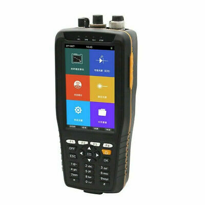 4 in 1 Portable Optical Time Domain Reflectometer 60KM OTDR OPM OLS VFL Tester