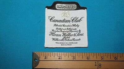 * Rare Canada Canadian Club Whisky Distillery Ontario Walkerville Patch Crest *