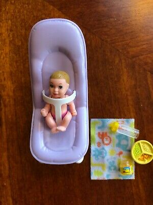 Details about  /BARBIE BABY  Doll HAPPY FAMILY Nursery  clear doctor cradles replacement LOT
