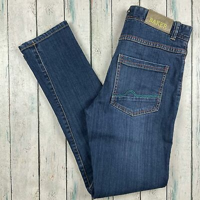 Ted Baker Boys Denim Slim Fit Jeans - Size 12 Years